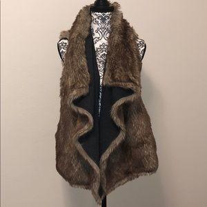 Mossimo Supply Co Faux Fur Vest